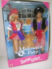 Halloween Party - Barbie and Ken Dolls Gift Set -Target Special Edition 1998