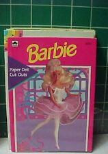 BARBIE full-color GOLDEN PAPERDOLL
