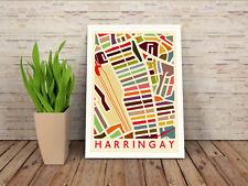 Harringay Ladder (Turnpike Lane Green Lanes Manor House Finsbury Park) Art Print