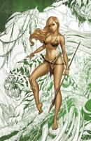 Uncanny X-Men #12 J Scott Campbell Exclusive E Shanna Sketch PRE-SALE