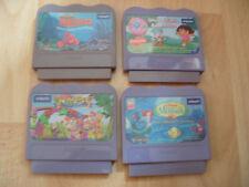 4x VTECH V SMILE Cartouche de jeu memaid Dora Alphabet Park Finding Nemo