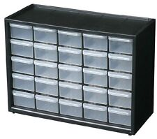 Flambeau 6576Na Parts Storage Drawer Hardware & Craft Cabinet With 25 Drawers Ne