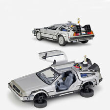 1:24 Back to the Future 2 Time Machine Model Car Diecast Vehicle Collection