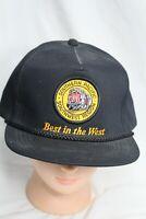 Southern Pacific Railroad Southwest Region Black Patch Vintage Snapback Hat
