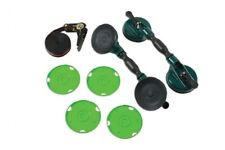 Window Windscreen Fitment Removal Twin Suction Cup Strap with Handle Tool Set