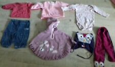 Lot 21 vêtements fille hiver 6 mois