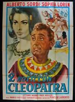 M231 Manifesto 4F Sophia Loren Due Nights With Cleopatra Alberto Sordi Manni Mad