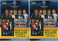 (2) 2019-20 Topps UEFA Champions League Soccer Match Attax 36c. Starter Deck Lot