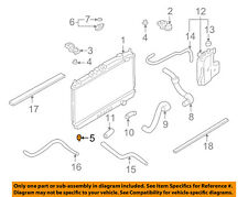 NISSAN OEM-Radiator Assembly Lower Insulator 215084P000