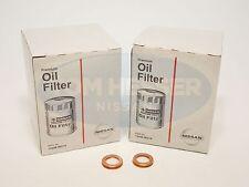 Genuine Nissan OEM Oil Filter 15208-9E01A & 11026-JA00A 2 Pack