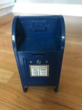 New ListingUs Postal Service replica Mailbox coin bank 1970's