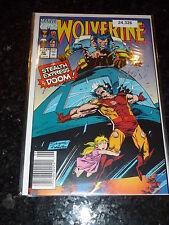 WOLVERINE Comic - No 40 - Date 06/1991 - Marvel Comics