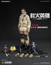 "Enterbay As The Light Goes Out Fireman Sam Nicolas Tse 12"" Figure IN STOCK"