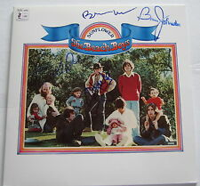 THE BEACH BOYS SIGNED SUNFLOWER RECORD X4 BRIAN WILSON MIKE LOVE W/PROOF!!!!!!