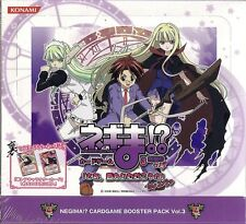Magister Negi Magi Negima!? Card Game Booster Vol 3 Sealed Box