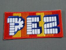"Nostalgic PEZ Iron On Embroidered Jacket Cap Patch 3"""