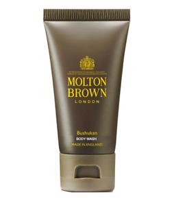 Molton Brown BUSHUKAN Body Wash - 50ml travel Size -- Brand New