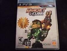 Replacement Case (NO GAME) RATCHET CLANK  PLAYSTATION 3 PS3