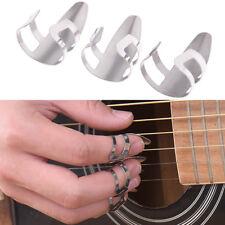 3Pcs Stainless steel finger guitar pick slide guitar  In CCO