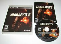 Singularity for Playstation 3 Complete Fast Shipping!