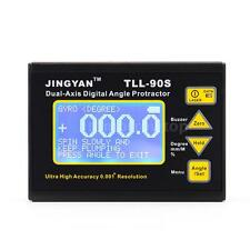 LCD Digital Laser Angle Meter Inclinometer Protractor High Accuracy ±0.005° V9X4