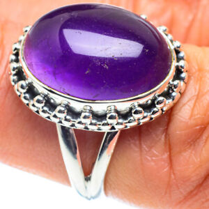 Amethyst 925 Sterling Silver Ring Size 6.5 Ana Co Jewelry R58678F