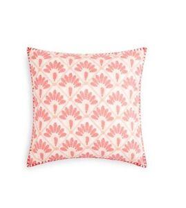 "John Robshaw Hila Lotus Decorative Pillow, 20"" x 20"""