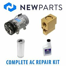 VW Golf 2000-2005 Jetta 2000-2004 AC A/C Repair Kit With NEW Compressor & Clutch