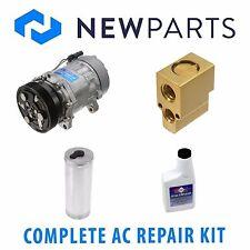 VW Golf 2000-2005 Jetta 2000-2004 AC A/C Repair Kit With NEW Compressor & Clutch