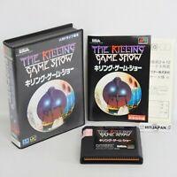THE KILLING GAME SHOW Mega Drive Sega 050 md