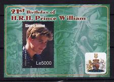 SIERRA LEONE 2003 Prince William Bloc MNH **