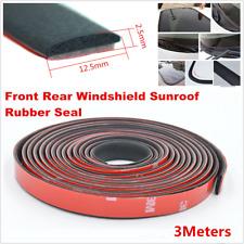 3M Car Windshield Sealant Rubber Sunroof Triangular Window Sealing Sealed Strips