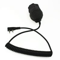 Speaker Mic Microphone Dual PTT For Baofeng Two Way Radio UV-82 UV-82L UV-8