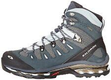 Salomon Quest 4d GTX Women 8 Blue Leather Hiking BootPre Owned 2211 UK 6.5