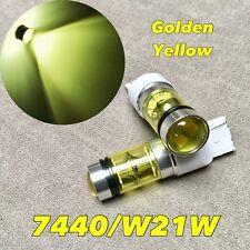 Rear Signal Light GOLDEN YELLOW XBD LED bulb T20 7440 992A WY21W w21w for Nissan