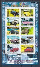 Frankreich 2000 postfrisch Klb. MiNr. 3458-3467 Oldtimer-Automobile