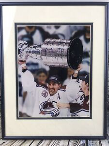 Ray Bourque Colorado Avalanche 2001 Stanley Cup Champions Framed Picture