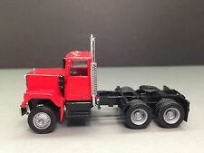 HO 1/87 Promotex/Herpa # 15235 GMC Short Tandem axle Day Tractor - Red