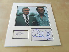 LARRY HAGMAN & PATRICK DUFFY DALLAS ORIGINAL AUTOGRAPHS UACC RD 284 AFTAL RD 36