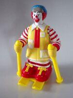 Jouet Toys figurine Mc donalds 1994 RONALD SKI 9 cm Mécansime ok