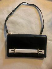 Michael Kors Chelsey LG Clutch Leather Black/ White $268
