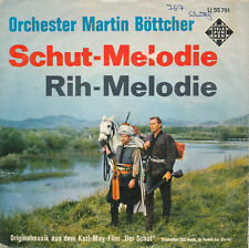 """7"""" - Orchestra Martin Böttcher-avventura-melodia/Rih-MELODIA-TELEFUNKEN u55791"""