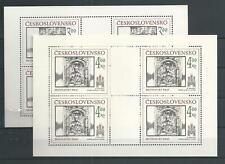 1986 MNH Tschechoslowakei Mi 2873-4
