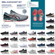 Asics Gel-Kayano 27 soporte intermedio para hombres y mujeres de carretera Calzado para Correr Elija 1