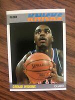 1987-88 Fleer #119 Gerald Wilkins New York Knicks NrMt