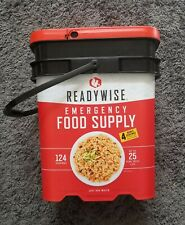 Readywise Ready Wise Company Emergency Food~EXP 2045~124 Servings + 8 Bonus!