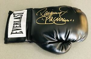 "Manny Pacquiao Signed Everlast Boxing Glove Inscribed ""Pacman"" Beckett BAS COA"