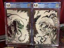 Venom #28 & #29 CGC 9.8, Virgin Sketch Variant Covers Marvel Carnage MCU