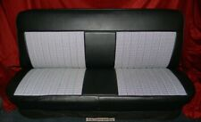 67-72 Chevy Truck Leather Look Plain Johnny Seat Covers