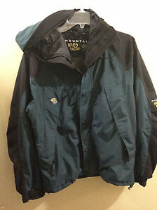 MOUNTAIN HARDWEAR Exposure 2 Conduit Shell Jacket MEDIUM Green Snowboard Parka